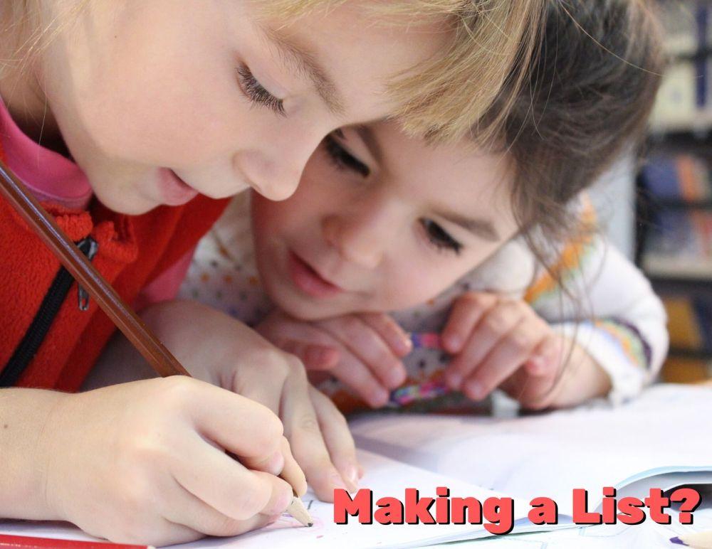 Making a List_